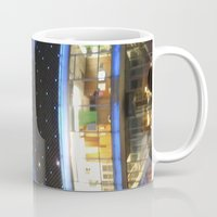 argentina Mugs featuring Planetario Buenos Aires Argentina by Mauricio Santana