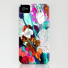 forest flowers 3 Slim Case iPhone (4, 4s)