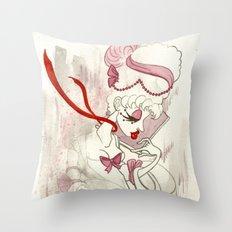Rose de Charme Throw Pillow
