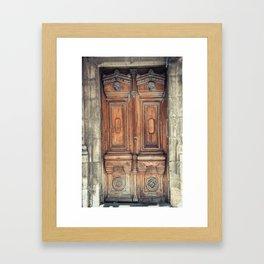 Doors II Framed Art Print