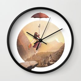 Untold Stories Wall Clock