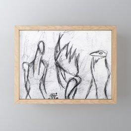 """""""Men In The Dark"""" Framed Mini Art Print"""