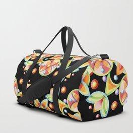 Suzani Stripe Pattern Duffle Bag