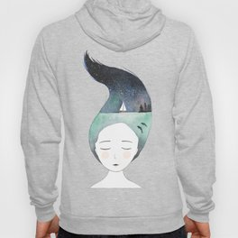 Dreaming about traveling the world Hoody