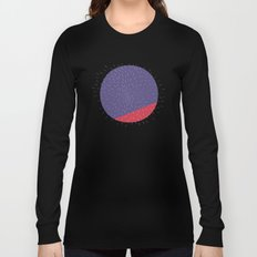 Retro Mod Flowers #5 by Friztin Long Sleeve T-shirt