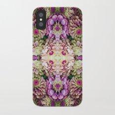 Dark floral Slim Case iPhone X