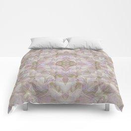 FADED HYDRANGEA CLOSE UP Comforters