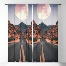 Mooned Blackout Curtain