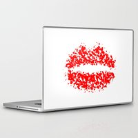 lips Laptop & iPad Skins featuring LIPS by ROBAUSCH