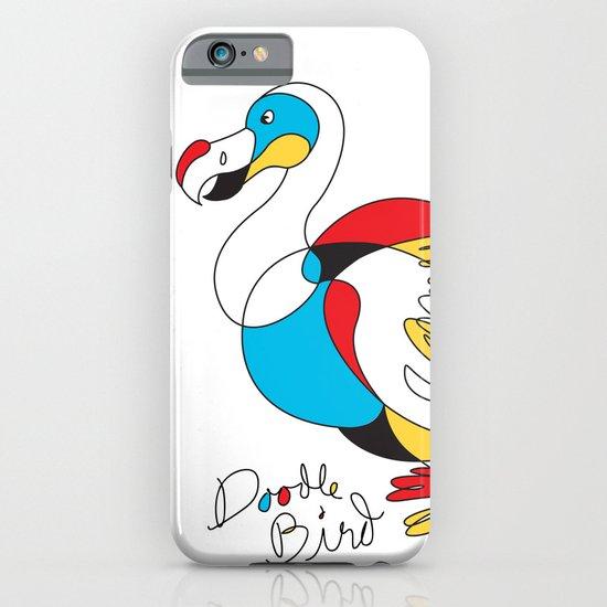 Doodle Bird iPhone & iPod Case