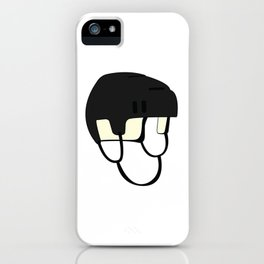 Hockey Helmet iPhone Case