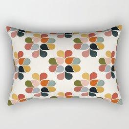 Retro geometry pattern Rectangular Pillow