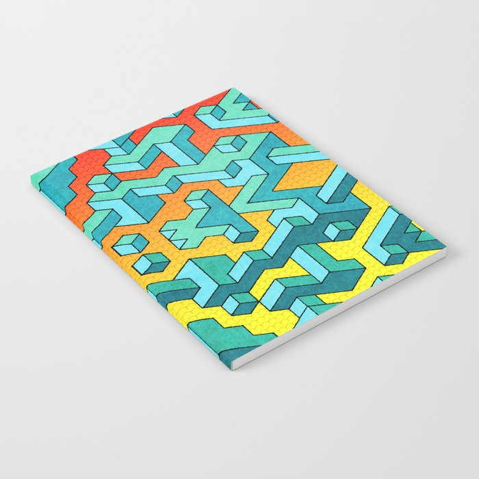 Miles and Miles of Squares Notebook