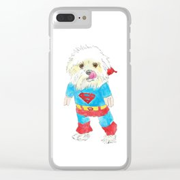 Smitten 1 Clear iPhone Case