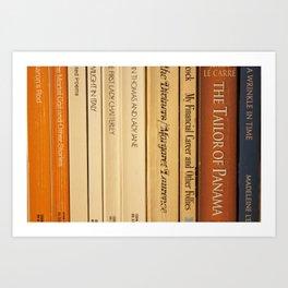 Book Spines Art Print