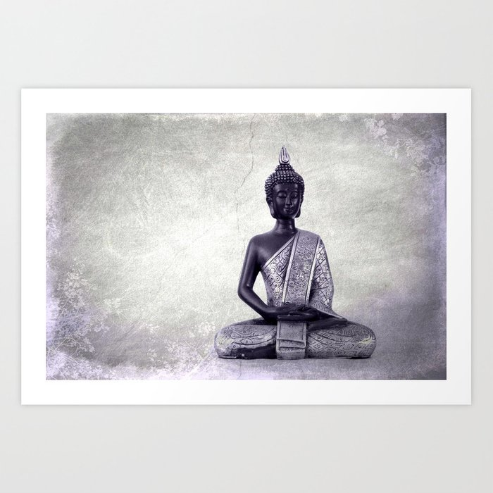 Buddha  - JUSTART © Art Print
