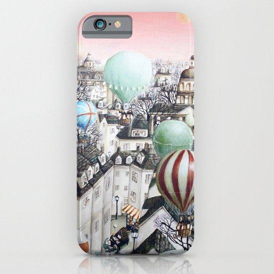 Balloon travel iPhone & iPod Case