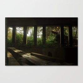 St. Peter's Seminary - side hall Canvas Print