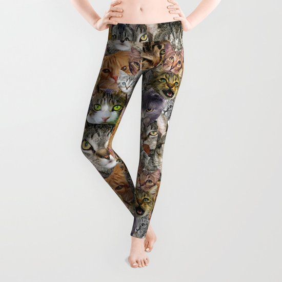CATS!  Leggings