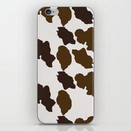 Cowhide Pattern iPhone Skin