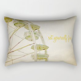 Set Yourself Free Rectangular Pillow