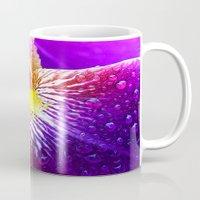 iris Mugs featuring Iris by Robin Curtiss