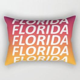 Florida Tequila Sunset Rectangular Pillow
