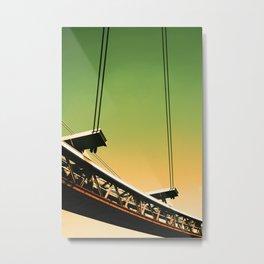 The Tranporter 1 Metal Print