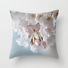 Spring Blossoms :) Throw Pillow