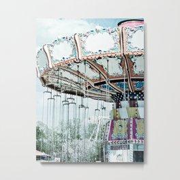 Flying Circus Metal Print