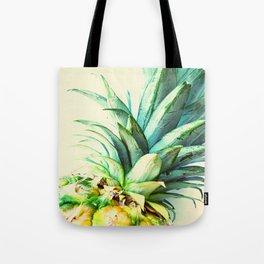 Green Pineapple Tote Bag
