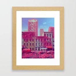 FLUFFERTON (everyday 01.27.18) Framed Art Print