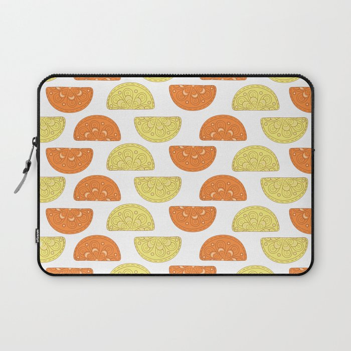 Orange Slices Pattern Laptop Sleeve