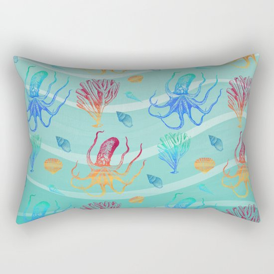 Marine Pattern 13 Rectangular Pillow