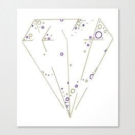 Diamond Art Print Canvas Print