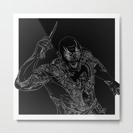 Drax the Destroyer, GuardiansOfTheGalaxy Metal Print