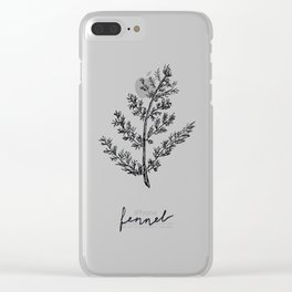 Fennel Clear iPhone Case