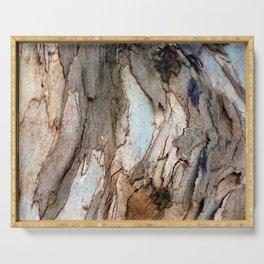 Eucalyptus Tree Bark 8 Serving Tray