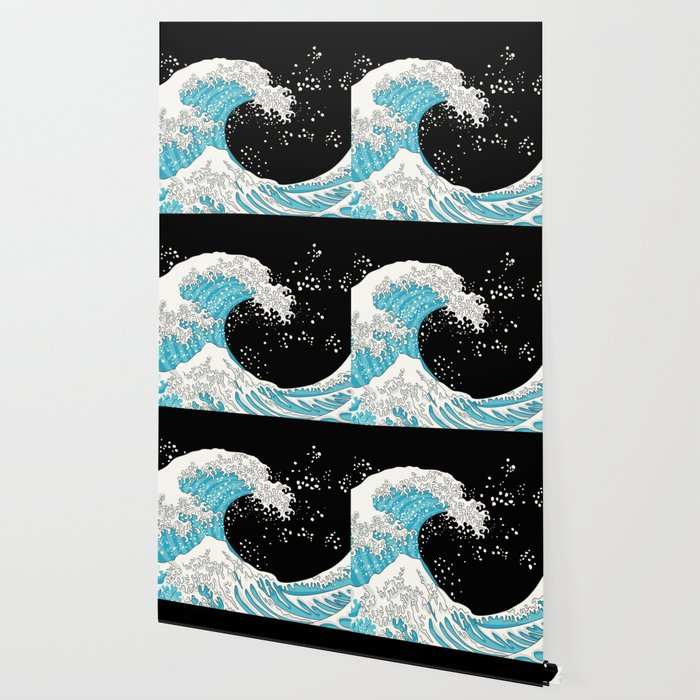 The Great Wave (night version) Wallpaper