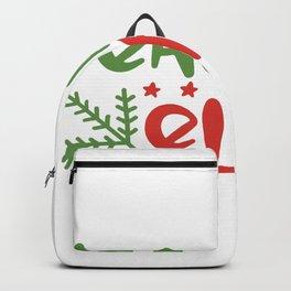 Teacher Elf Backpack