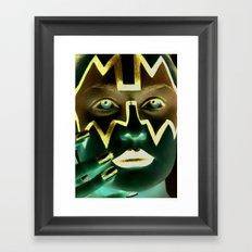 Kiss Ace Framed Art Print