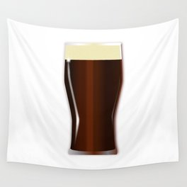 Pint Beer Glass Wall Tapestry