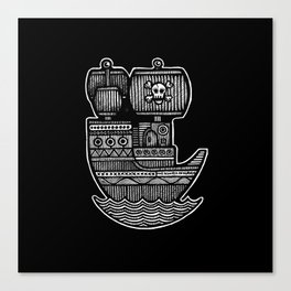 Pirate Ship - Scourge of Nurnen Canvas Print