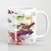 splatter Mugs featuring Splatter by Leechi