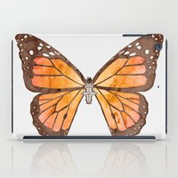 nirvana iPad Cases featuring Caterpillar's nirvana by Benjamin Castle