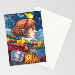 Fire and Flowers Stationery Cards