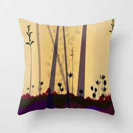 late Throw Pillow