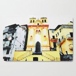 Church among buildings Cutting Board