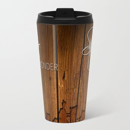 3 Kings on Wood Travel Mug