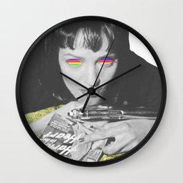 Pulp weed Wall Clock